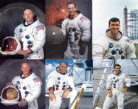 Apollo Portraits - Individual NASA Astronauts